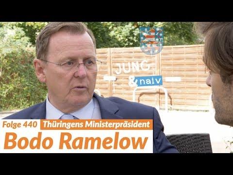 Ministerpräsident Bodo Ramelow (Die Linke) | Wahl in Thüringen - Jung & Naiv: Folge 440