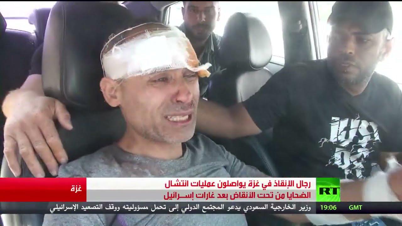 تواصل عملية انتشال ضحايا الغارات الإسرائيلية  - نشر قبل 3 ساعة