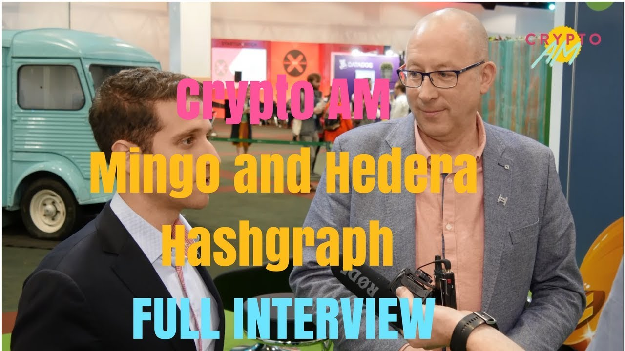 Full Interview - Mingo and Hedera Hashgraph, Dublin Tech Summit