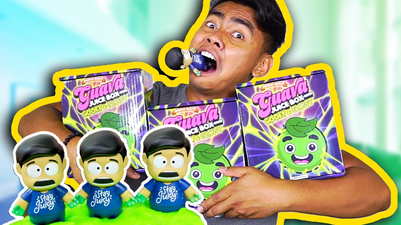 Gava Juice Toy : Guava juice box unboxing gooey glowy youtube