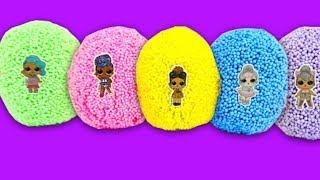 Сюрпризы из шарикового пластилина  Игрушки из мультиков