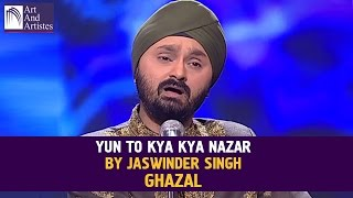 Yun To Kya Kya Nazar | Ghazal By Jaswinder Singh | Idea Jalsa | Art And Artistes