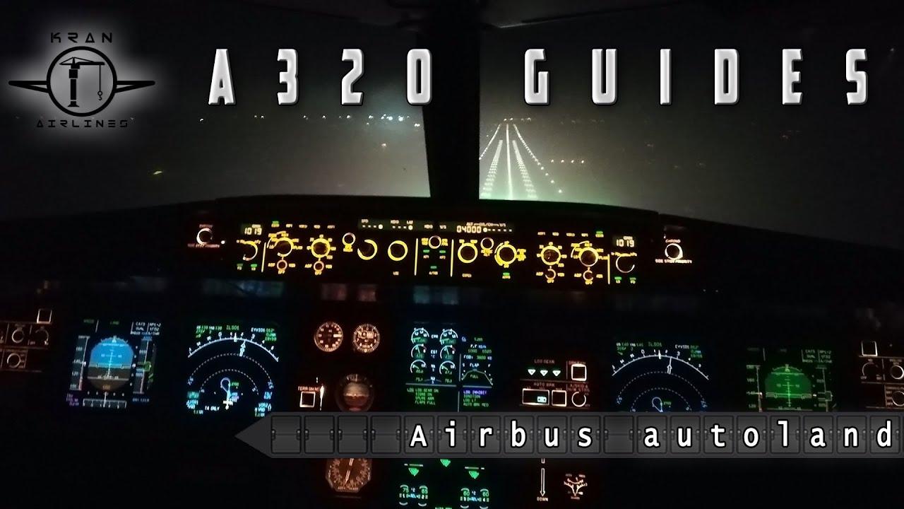 CAT II manual Landing. CAT III autoland. - YouTube