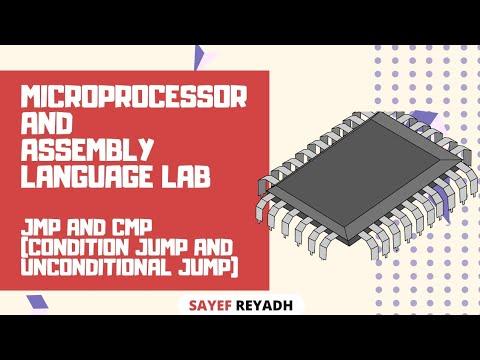 Assembly Language Tutorial Bangla EMU8086 - JMP & CMP (Condition Jump & Unconditional Jump)