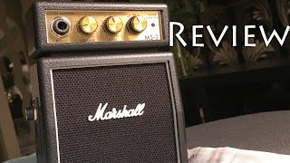 Marshall MS-2 Micro Amp Review-A Practice Amp Or A Toy?