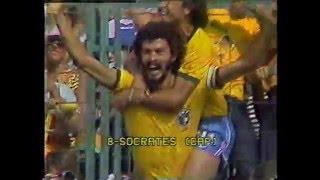ソクラテス、パレイラ監督、ペレのインタビュー。 '82スペイン大会、ソ...