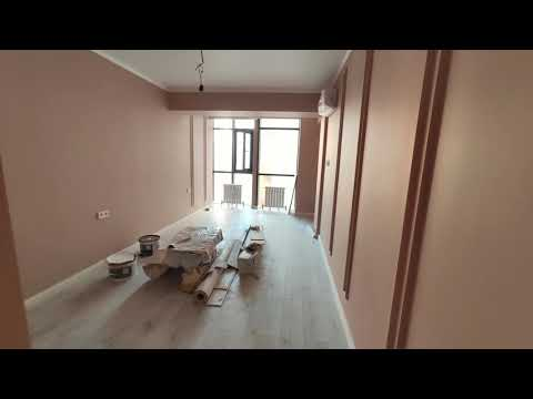 Ремонт квартиры под ключ в Алматы. Квартира с панорамными окнами в новостройке