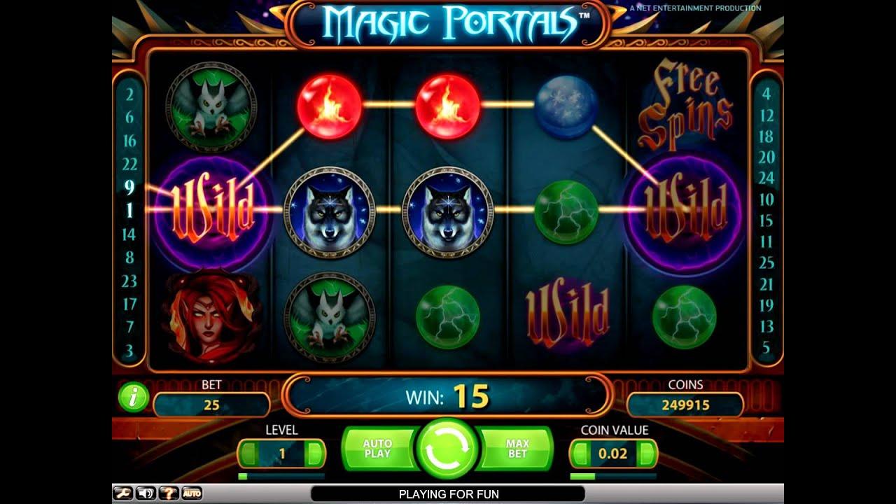 magic portals описание игрового автомата