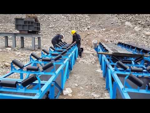 Fajas Transportadoras Minerales - Raunass