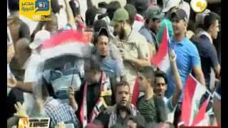 فيديو.. الأمن يمنع المتظاهرين من الوصول إلى ساحة التحرير ببغداد