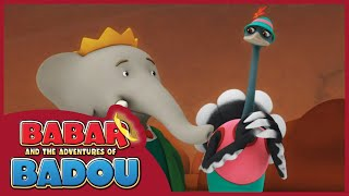 BABAR AND THE ADVENTURES OF BADOU - ​​ EPISODE 22: DINO EGG/STONE STEALER