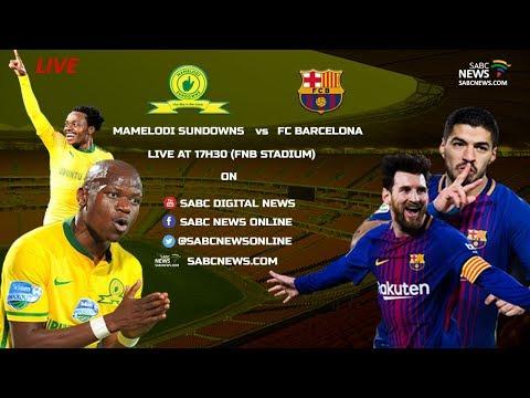 Sundowns FC vs FC Barcelona, 16 May 2018