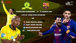 Mamelodi Sundowns FC face Spanish giants FC Barcelona at the FNB Stadium as part of the Nelson Mandela Centenary celebrations.    For more news, visit: sabcnews.com