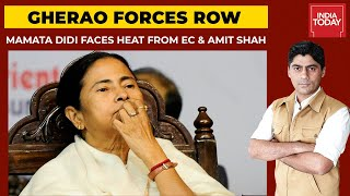 'Gherao Central Forces' Remark Row: Mamata Banerjee Faces Heat From Election Commission \u0026 Amit Shah