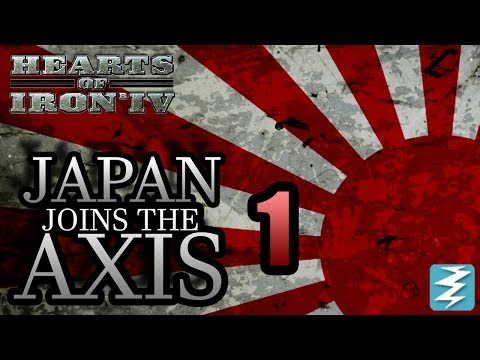 Japan Joins The AXIS [1] + Germany CO-OP! FT. Alex Berg - Hearts of Iron IV HOI4 Paradox Interactive