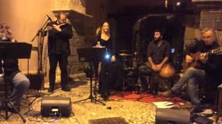 Alejandra Bertolino Garcia in ABACU al Castello di Castelbuono / musica di Maria Pia De Vito