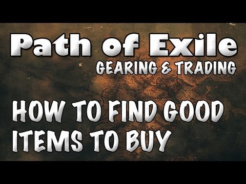 Trade system path of exile