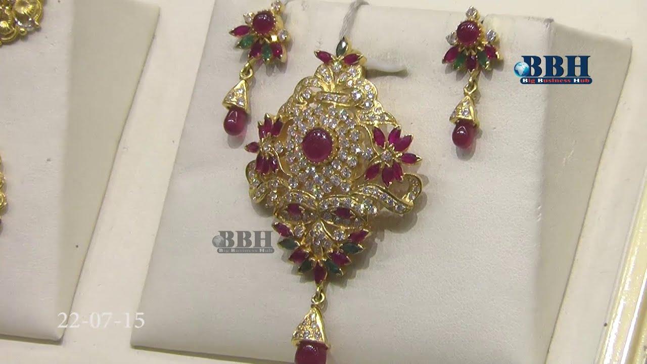 Gold necklace designs in grt jewellers - Grt Jewellers Celebrates Ear Ring Festival Bigbusinesshub Com