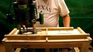 Mortising Jig For Loose Tenons