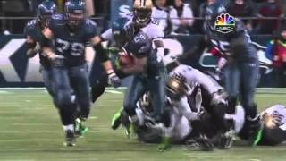 Marshawn Lynch puts his team on his back!!!