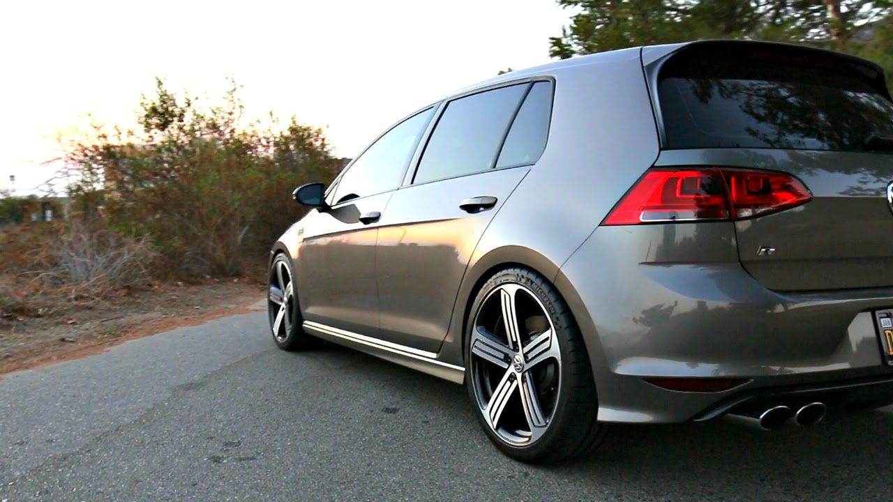 best suspension for the mk7 golf r youtube. Black Bedroom Furniture Sets. Home Design Ideas