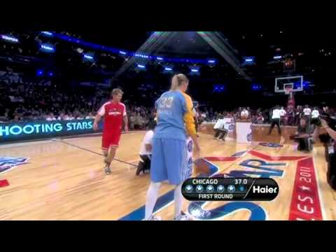 NBA All-Star Shooting Stars : Team Chicago 2/19/11