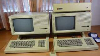 Apple Macintosh XL versus Apple Lisa 2