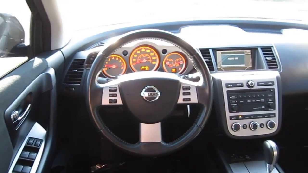 2006 Nissan Murano Black Stock B2297 Interior Youtube