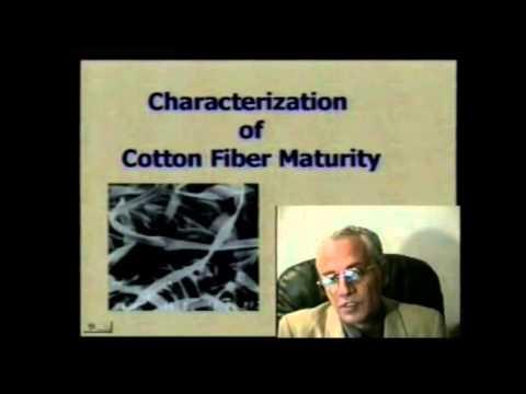 OVERVIEW of COTTON FIBER To Fabric Course Dr  Elmogahzy