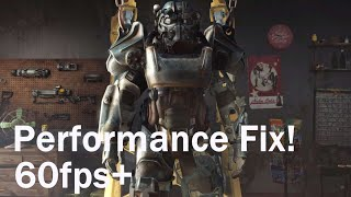 Fallout 4 - Performance Guide Stuttering Fix