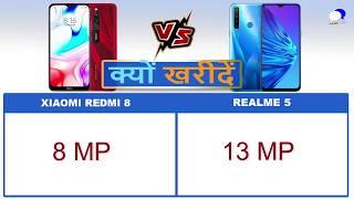 Xiaomi Redmi 8 vs Realme 5 Comparison and Reasons to Buy