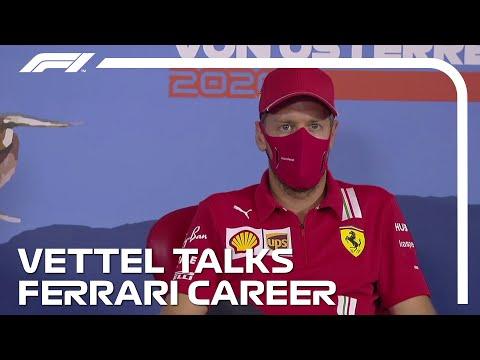 Sebastian Vettel On His Ferrari Career To Date | 2020 Austrian Grand Prix