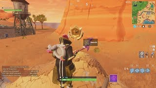 FORTNITE SEASON 5 WEEK 4: SECRET BATTLESTAR LOCATION!