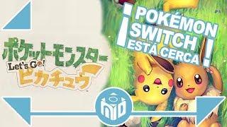 ¿Qué es Pokémon Let's Go Pikachu y Pokémon Let's Go Eevee? Pokémon Nintendo Switch | N Deluxe