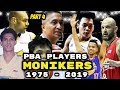 List of PBA Player MONIKERS and Nicknames (Part 4)