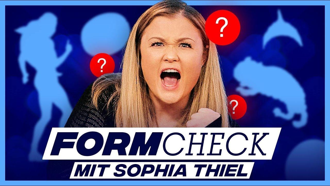 Der große FORMCHECK mit Sophia Thiel!