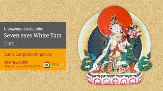 Empowerment and practice of seven eyes white Tara (English Italian) – 20/21 January 2018