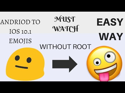 How To Install Ios Emojis On Andriod Without Root/change Andriod To Ios /ALTAF KHAN AK