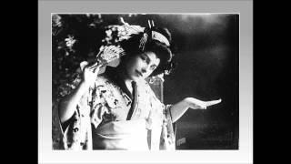 """Soprano GERALDINE FARRAR - Madama Butterfly - """"Chi con onor...Tu,tu, piccol Iddio!"""" (1909)"""