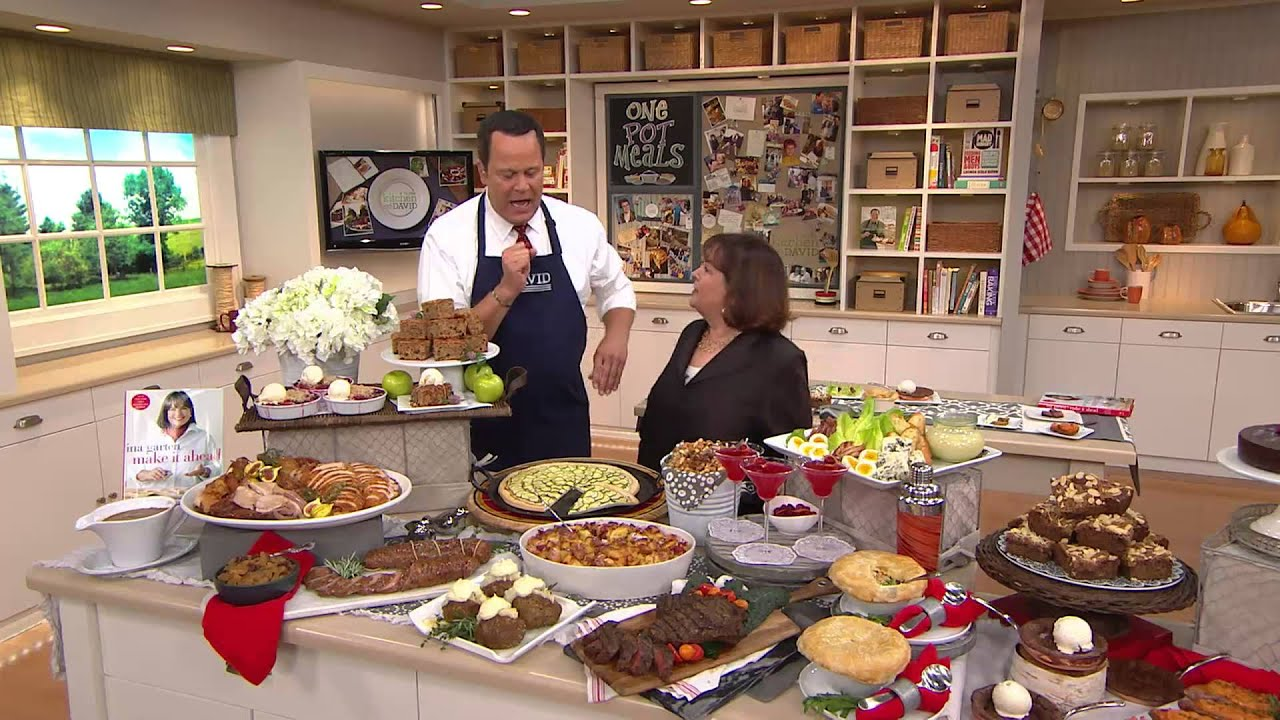 "Ina Garten House Pictures make it ahead"" cookbookina garten with david venable - youtube"