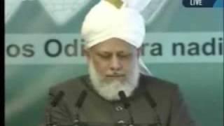 Проповедь Хазрата Мирзы Масрура Ахмада, (02-04-10) часть 3