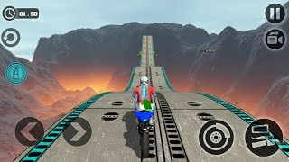 Impossible Motor Bike Tracks (by Tech 3D Games Studios) Android Gameplay [HD]