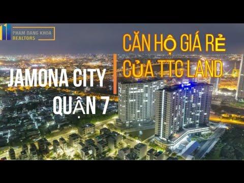 [ FLYCAM 4K ] JAMONA CITY QUẬN 7 : CĂN HỘ GIÁ RẺ CỦA TTC LAND
