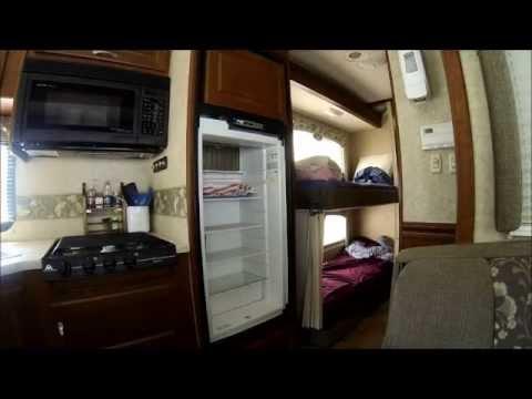 RV Repair: Norcold Refrigerator door hinge repair