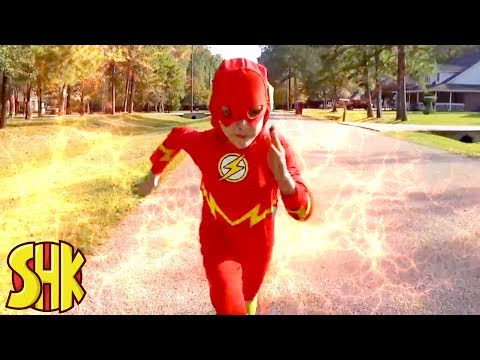 THE FLASH: SuperHero