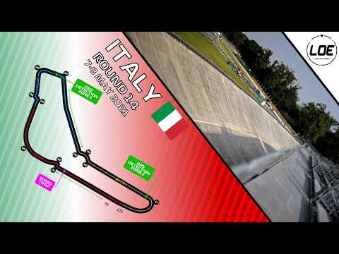 League of Europe   F1 2020   Season 5   Division 3   Round 14   Italy