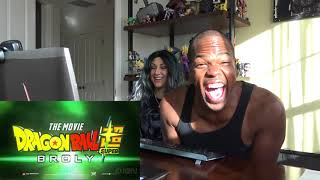 Dragon Ball Super: Broly Movie Trailer (English Dub Reveal) - Comic Con 2018 - REACTION!!!