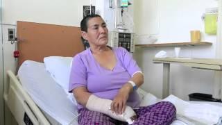 Polar bear attack recounted by survivor