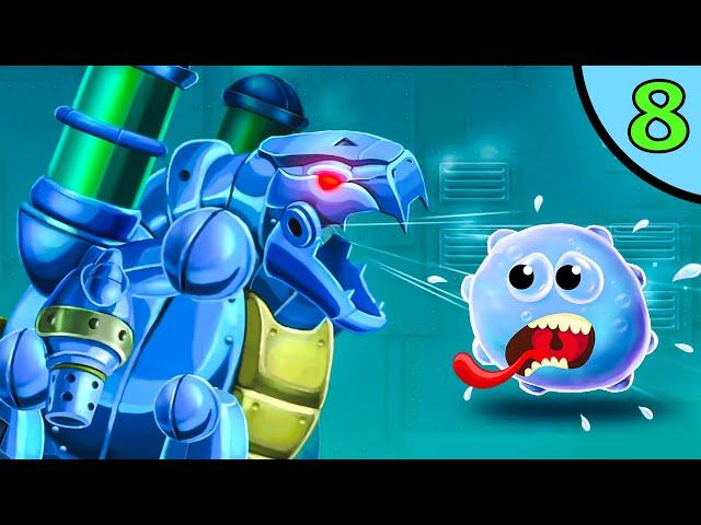 ЛИЗУН глазастик ГУ в подводном мире #8. Игра Goo Saga на канале Игрули TV