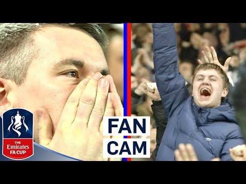 Fans React to Van Dijk's Winner in Merseyside Derby! | Fan Cam | Emirates FA Cup 2017/18